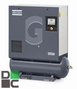 Винтовой компрессор GA 7 - 10 1 фото